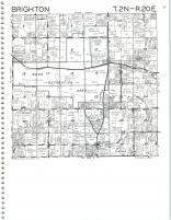 Map Image 007, Kenosha and Racine Counties 1986